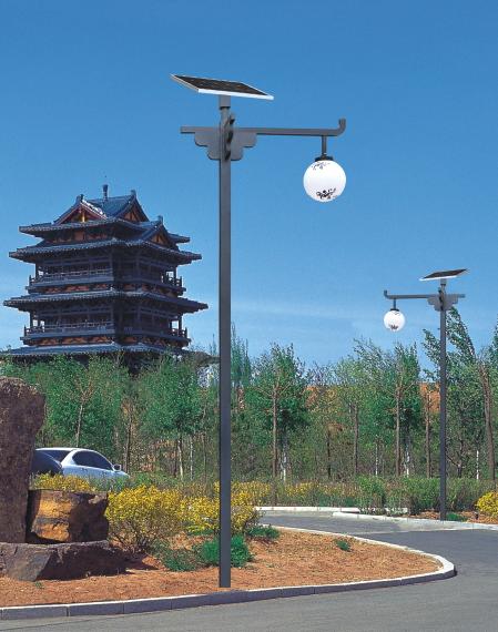 农村太阳能庭院灯专业厂家HQ-3901