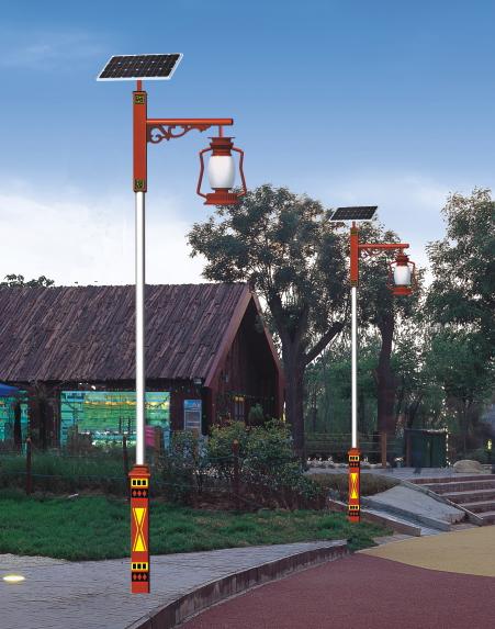 农村太阳能庭院灯专业厂家HQ-3802