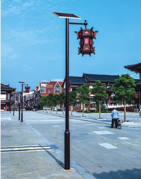 农村太阳能庭院灯专业厂家HQ-3801